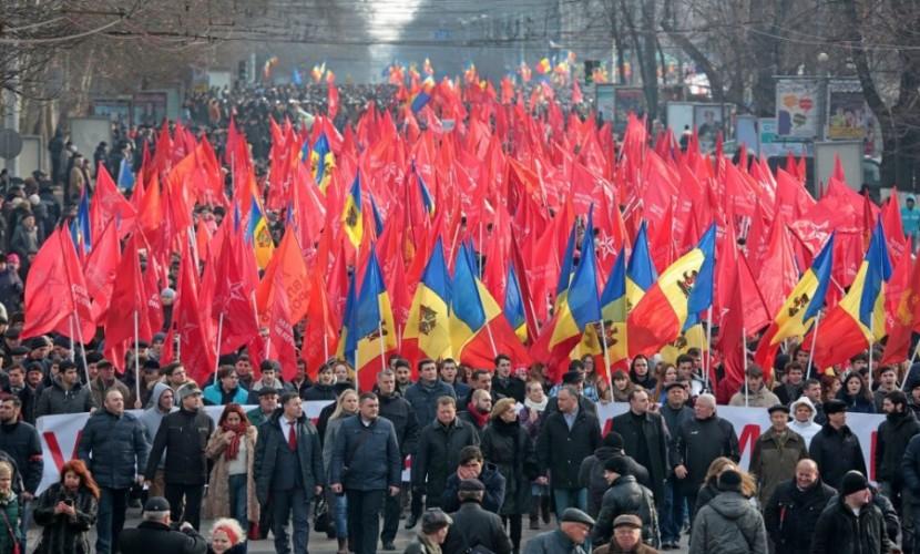 В Молдавии после перерыва возобновляются акции протеста