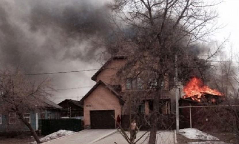 Беременная женщина спасла 8 своих детей из горящего дома в Оренбурге