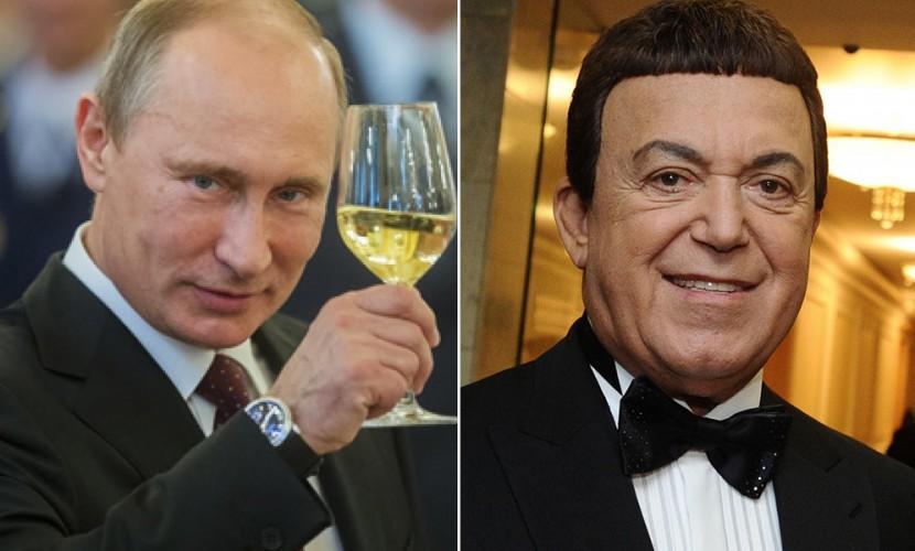 Путин присвоил Кобзону звание Героя труда: «за особые заслуги»
