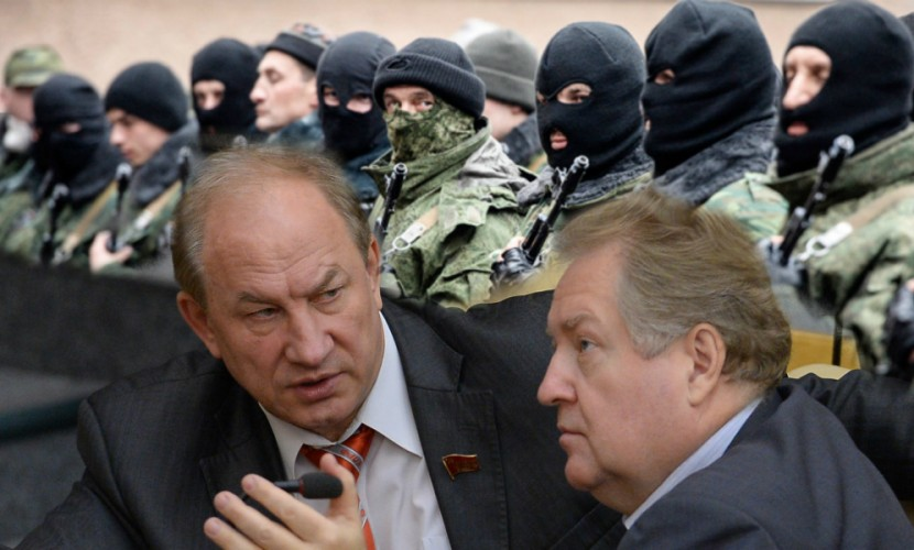 В Госдуме призвали Путина изменить название Национальной гвардии из-за силовиков Порошенко