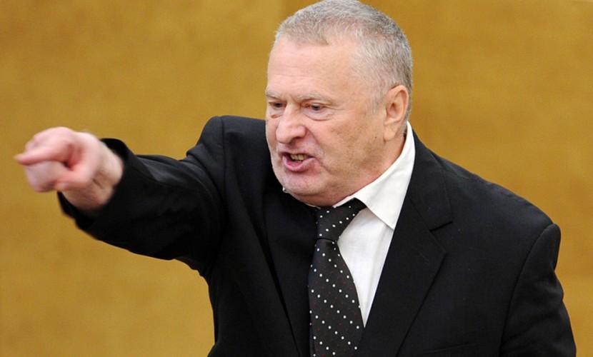 Жириновский возмутился лозунгом «Ад наш!» в Новосибирске