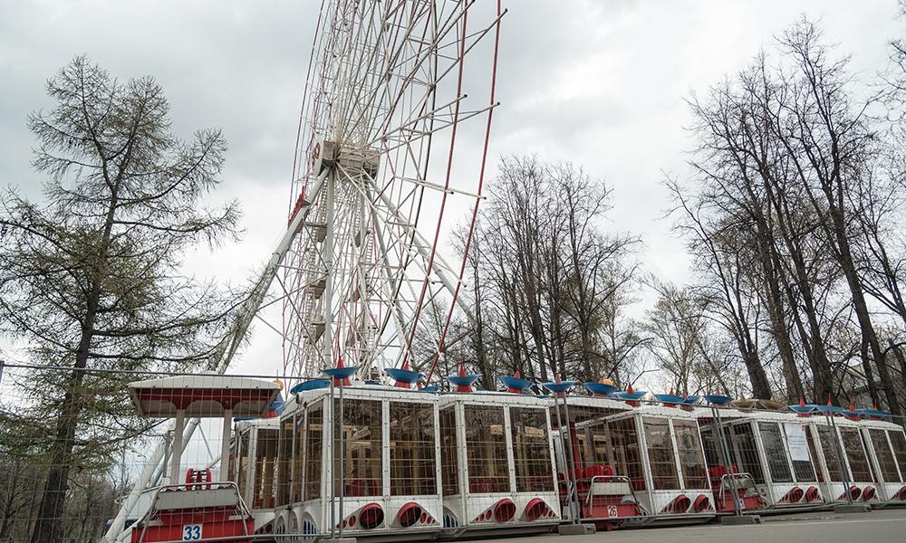 В столице России сняли все кабины со знаменитого Колеса имени 850-летия Москвы