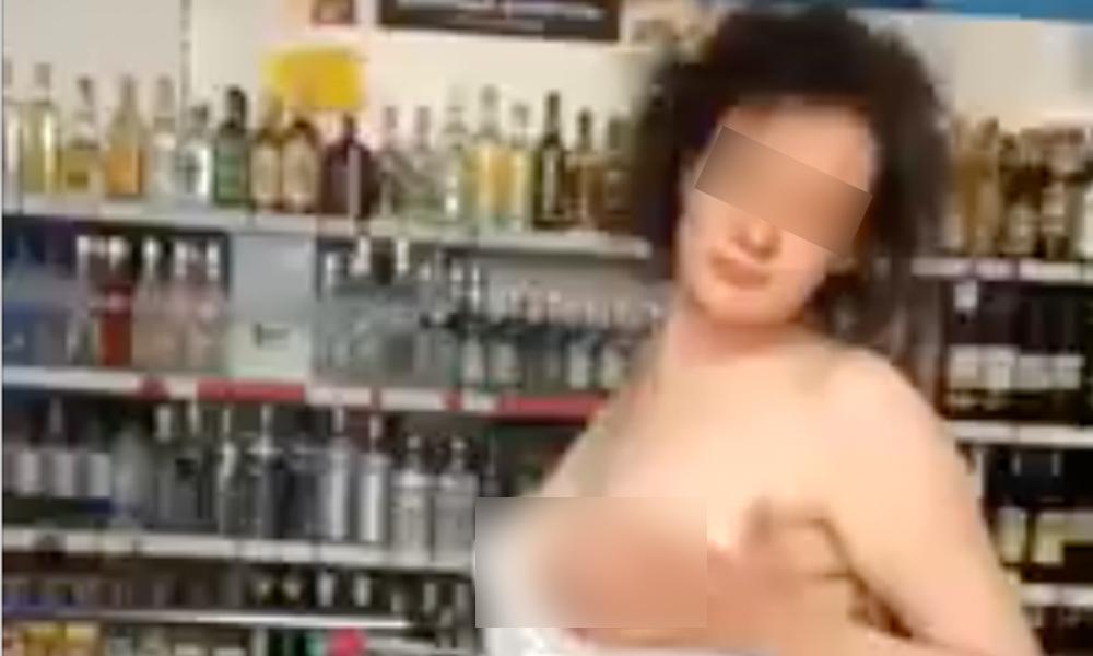 Зажигательный стриптиз девушки в продуктовом магазине Ростова-на-Дону сняли на видео