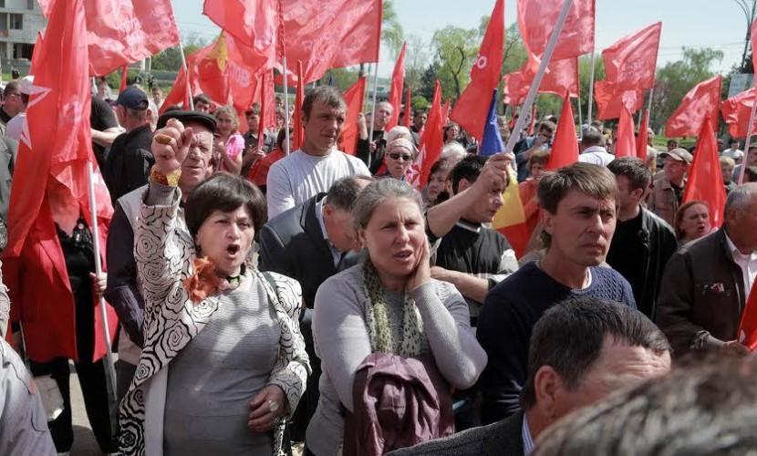 Молдавия митинг 1