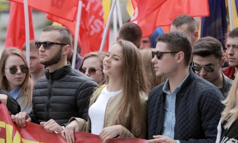 Молдавия митинг 2