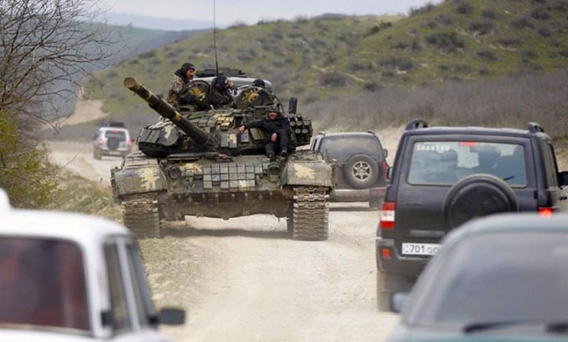 Баку и Ереван представили разные версии танковой атаки в Карабахе