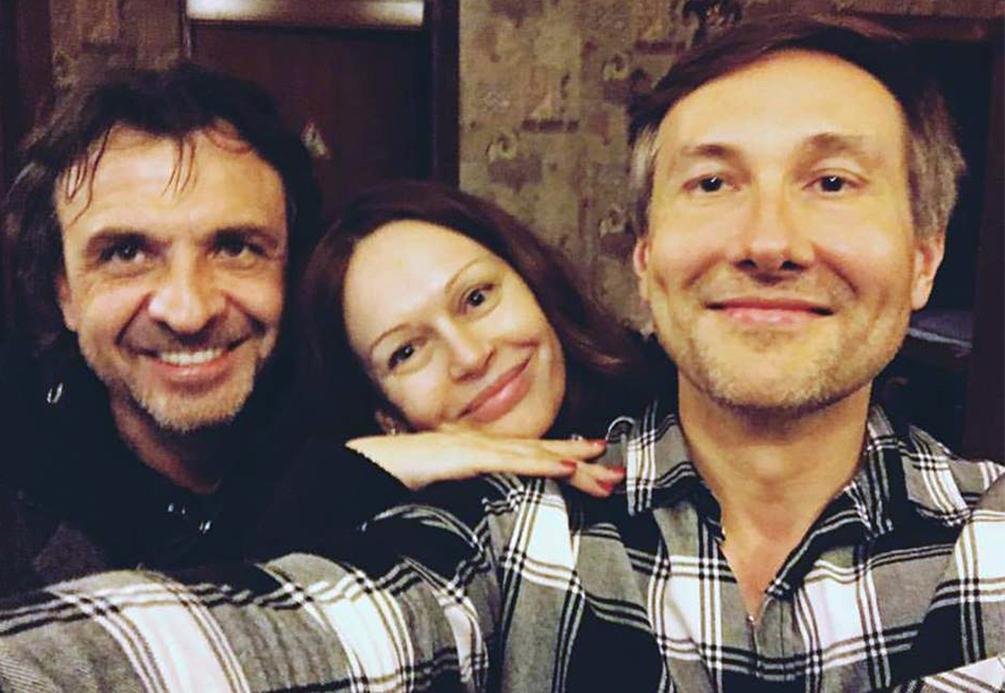 С Николаем Лебедевым.