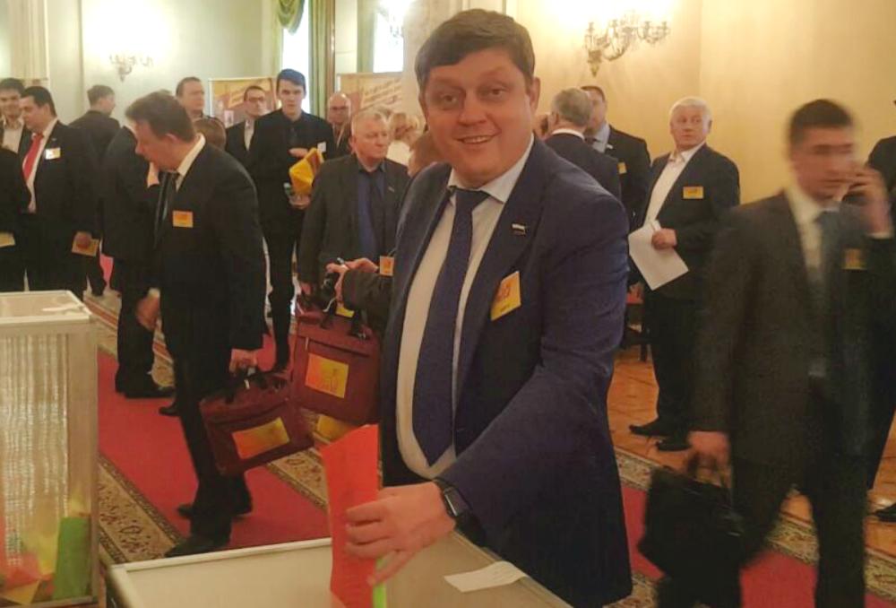 Депутат Государственной думы Олег Пахолков