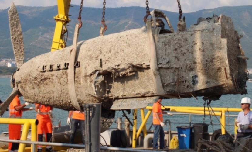 Три штурмовика «черная смерть» найдены на дне Керченского пролива
