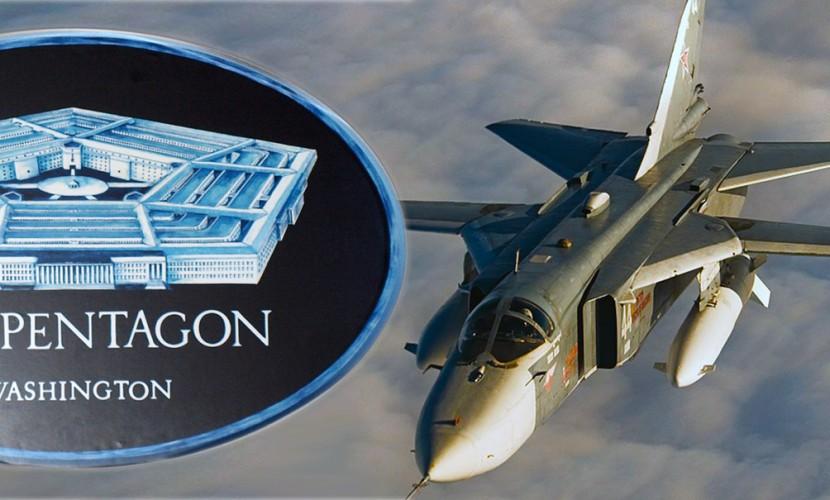 Пентагон отреагировал на полет российского Су-24 возле эсминца