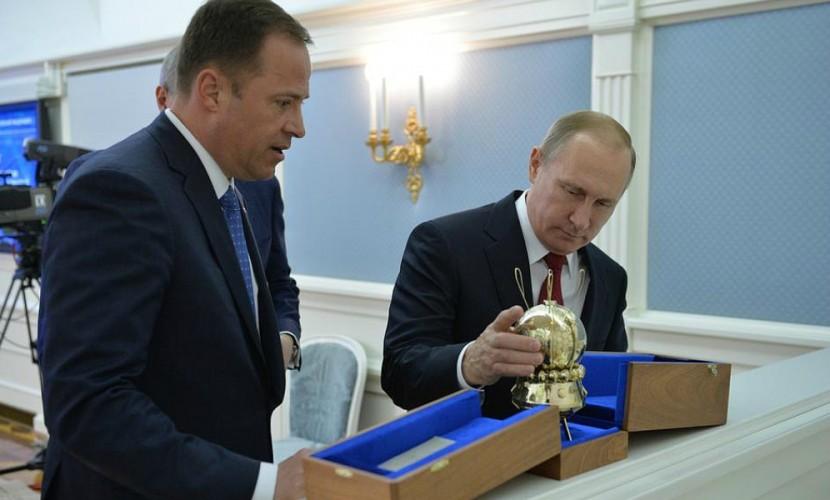 Путин поговорил с космосом и рассказал о коммерческих звездолетах будущего