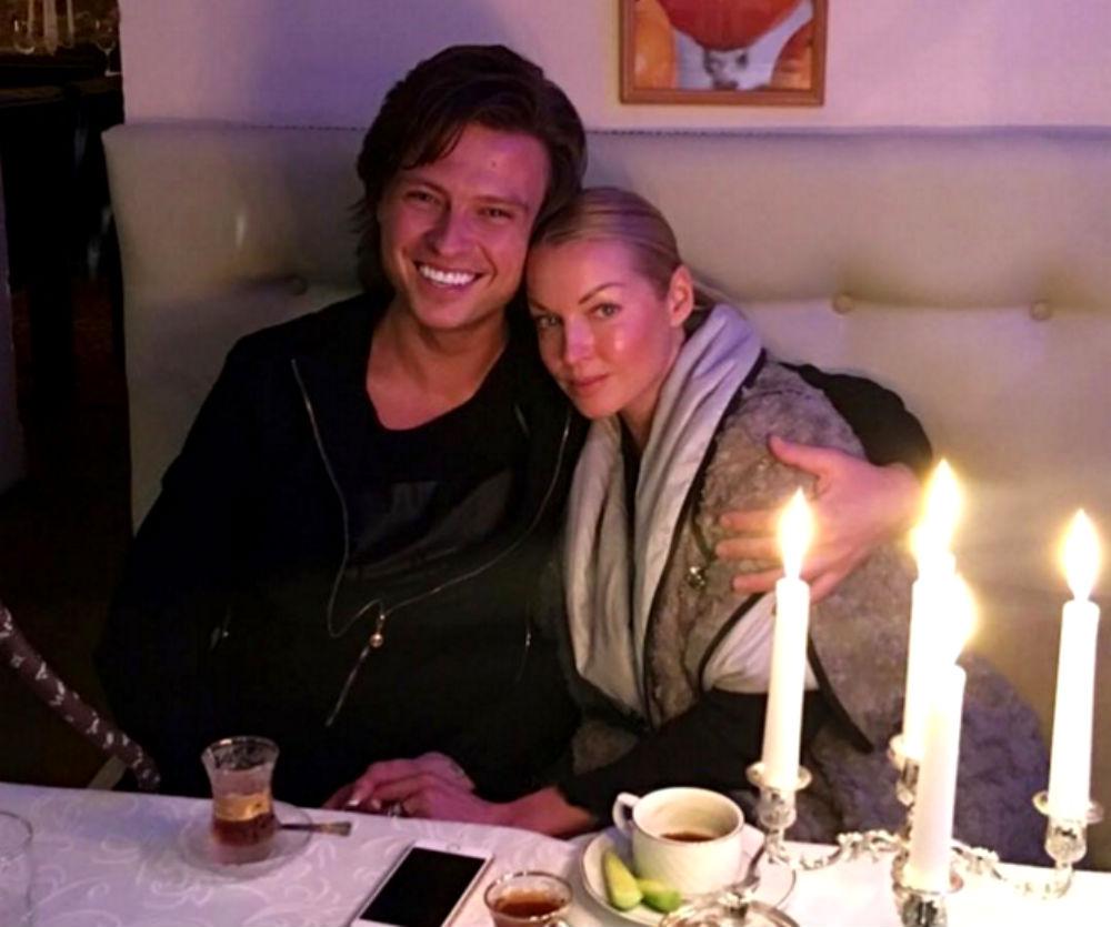 Анастасия Волочкова с Федором Шаляпиным