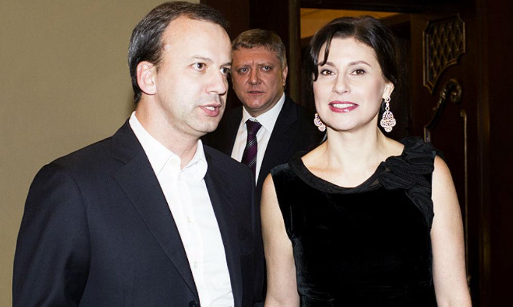 Супруга вице-премьера Дворковича оказалась самой богатой среди жен высокопоставленных чиновников