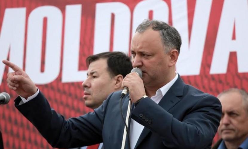 Председатель Партии социалистов Игорь Додон