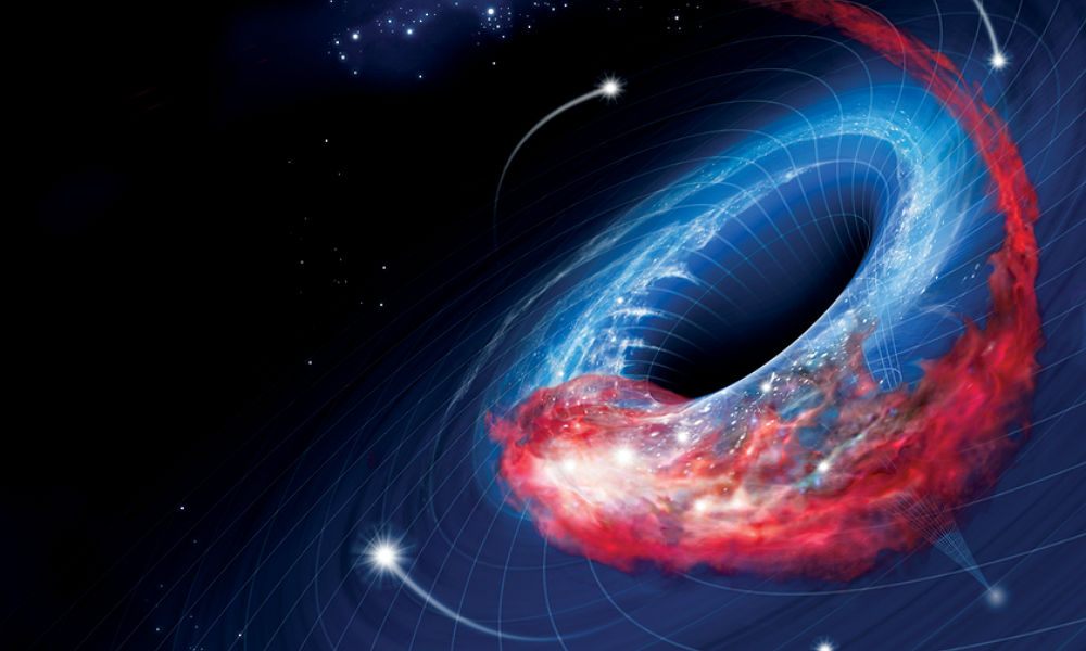an analysis of the black hole creation and the huge gravitational field