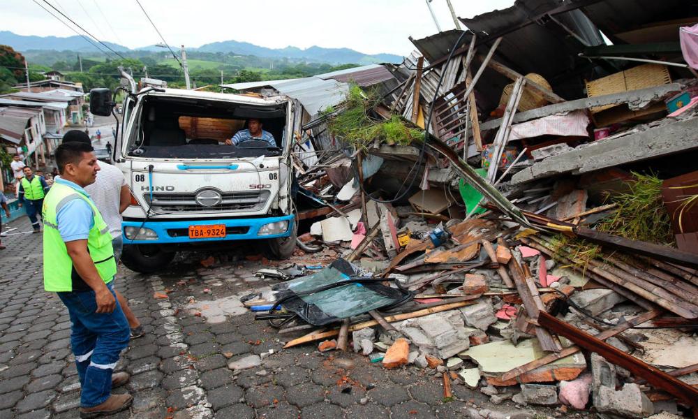 Число жертв мощнейшего землетрясения в Эквадоре увеличилось до 262