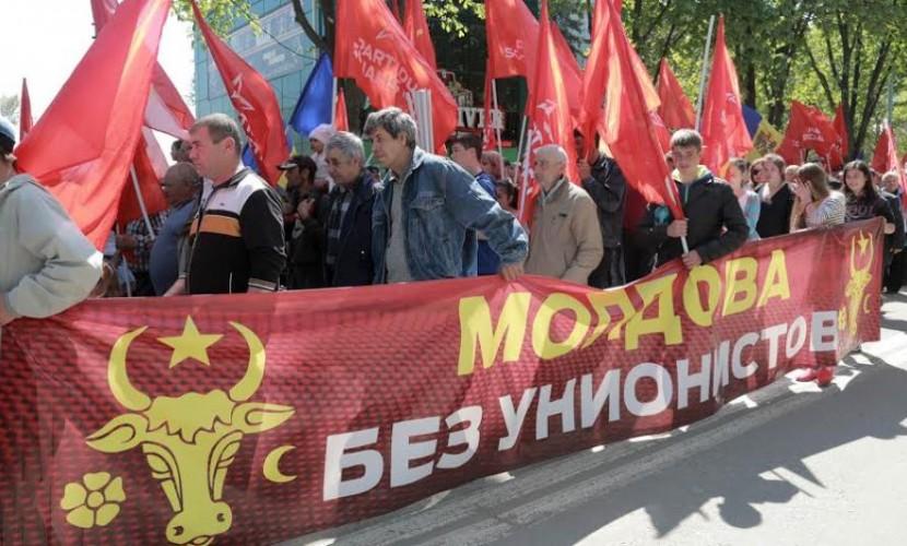 Молдавия митинг 10