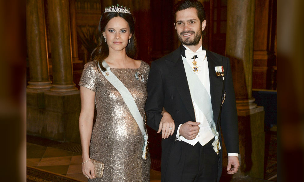 Супруга принца Швеции Карла Филиппа родила ему наследника