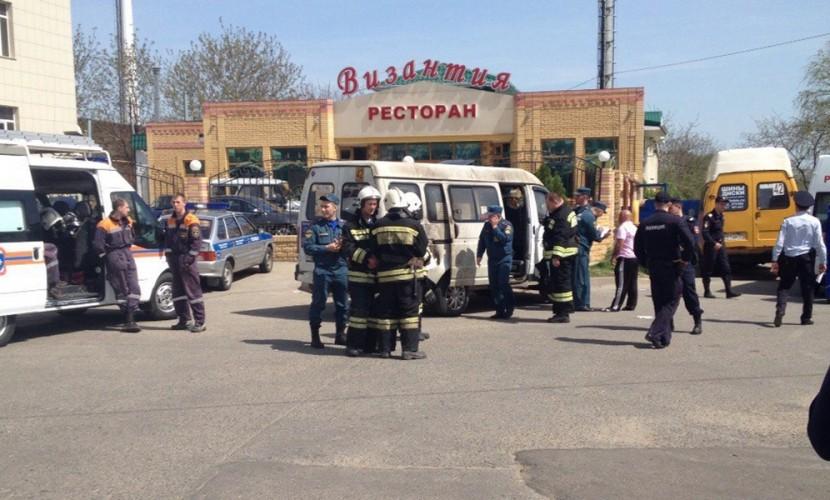 Два человека получили ранения при взрыве в маршрутке Ставрополя