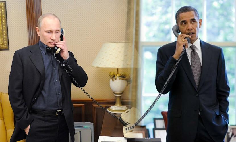 Путин и Обама выразили готовность содействовать режиму перемирия в Сирии