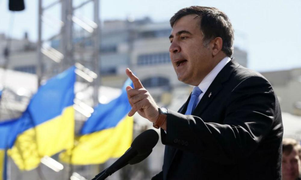 Саакашвили пригрозил уходом с занимаемого поста при отказе Порошенко выполнить ряд условий