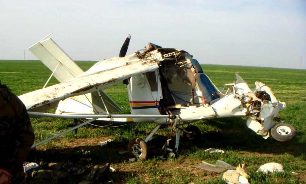 Частный самолет, незаконно орошавший поля в Ульяновской области, разбился вместе с пилотом