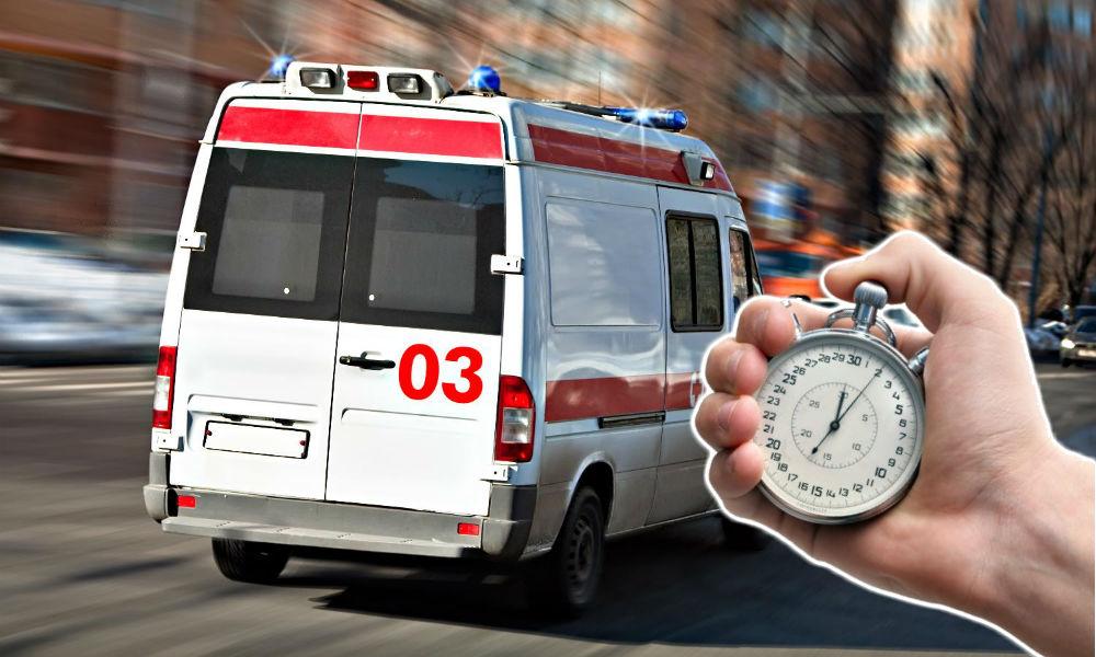 У скорой помощи появится ограниченное для приезда по вызову время