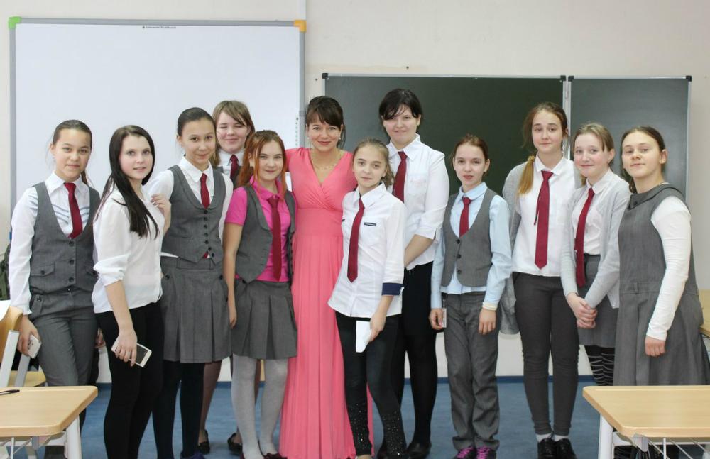 """""""Мой любимый класс"""" - подписала эту фотографию Светлана Степкина"""
