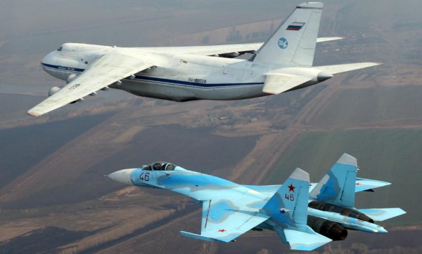 Истребитель Су-27 перехватил американский самолет-разведчик над Балтикой
