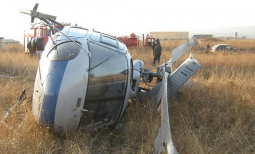 Рухнувший в КБР вертолет исчез с места падения