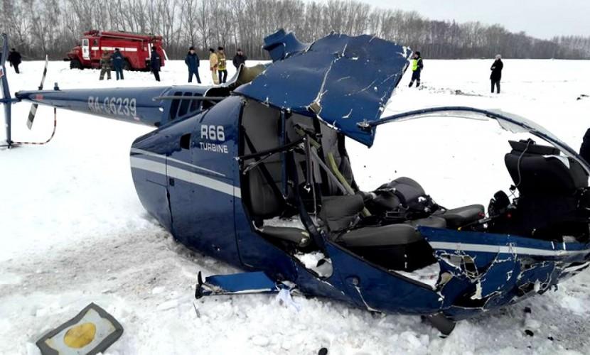 Пропавший на Ямале вертолет разбился, погибли все пассажиры