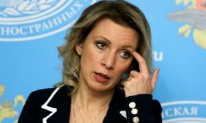Захарова за критику России уличила в подлости и цинизме кормящие