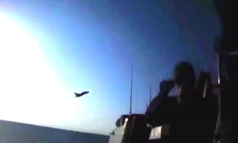 Видео с паникующими при виде российских ВКС американцами