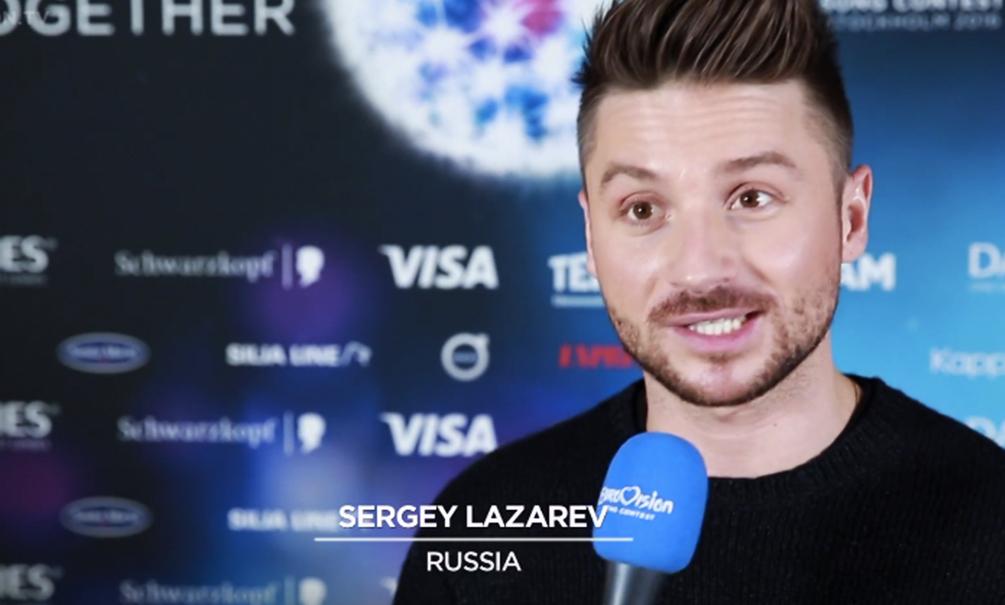 Опубликовано видео с жестким падением Сергея Лазарева на первой репетиции для