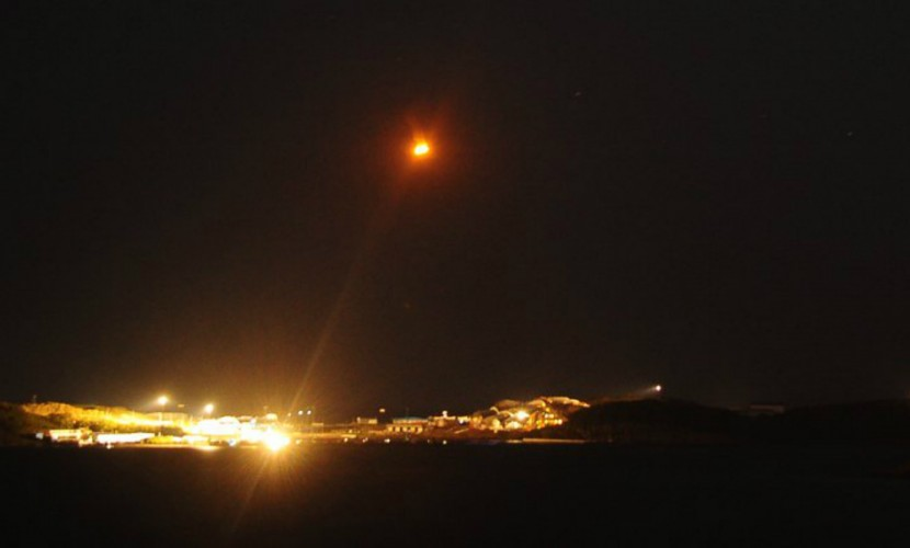 Самолет, летевший изКраснодара в столицу Российской Федерации, встретился снеопознанным объектом