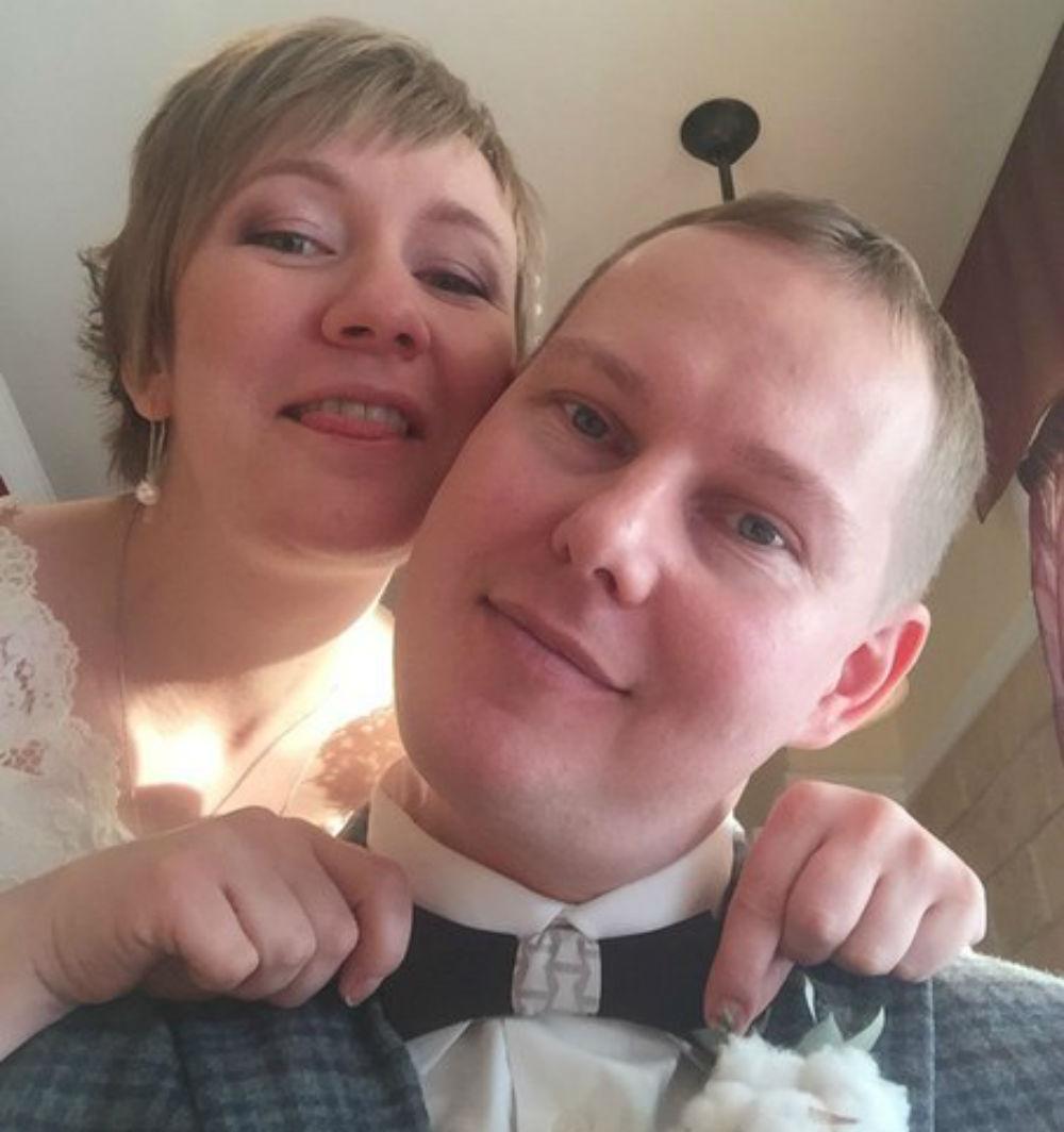 Настя вышла замуж в начале года