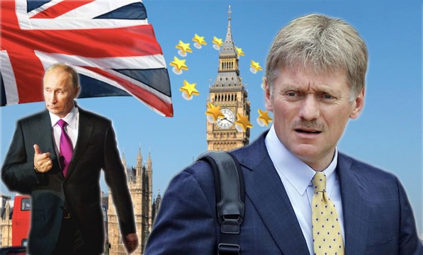В Кремле удивились одержимости Запада мнением Путина на тему выхода Британии из ЕС