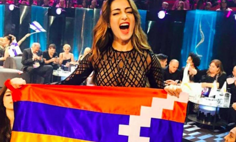 Оргкомитет «Евровидения» может дисквалифицировать Армению заподнятый флаг