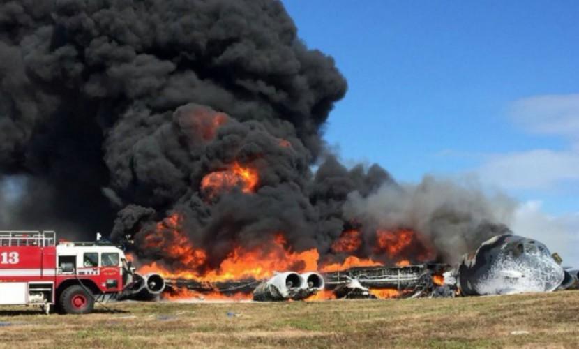 Крушение американского стратегического бомбардировщика B-52 произошло на Гуаме
