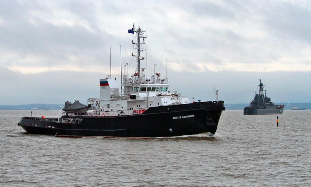 Латвийские ВС обнаружили подлодку и военный корабль ВМС РФ в