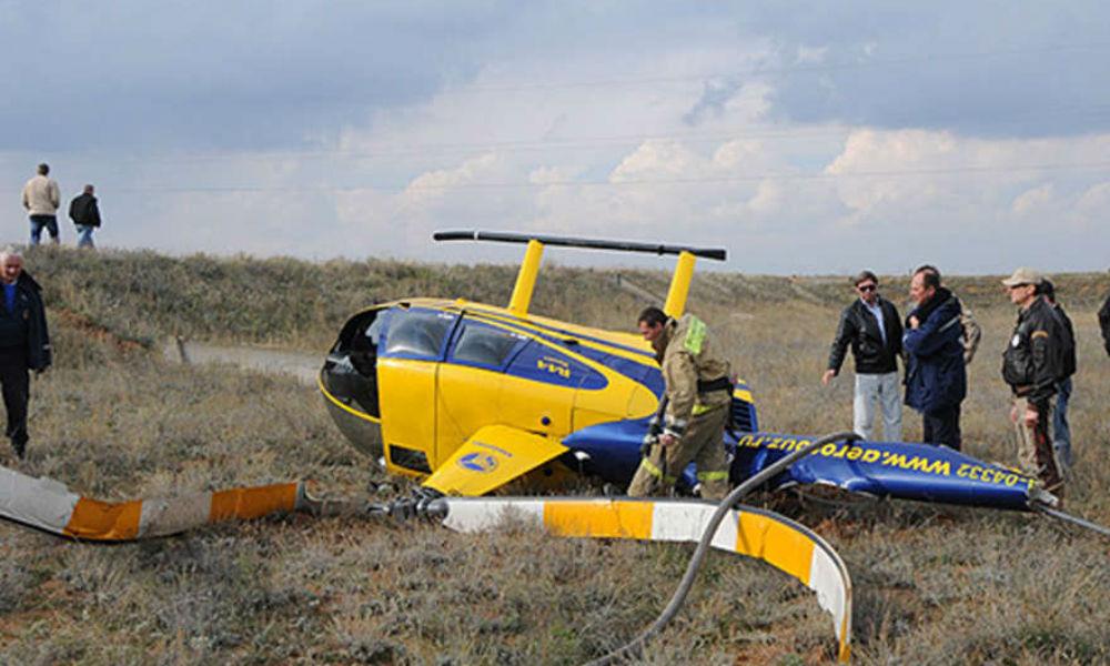 Вертолет Robinson с двумя людьми на борту разбился в Камчатском крае