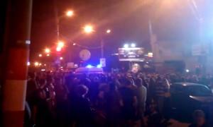 Снаряд фейерверка разорвался в толпе, убил женщину и ранил шестерых горожан на праздновании Дня Дзержинска