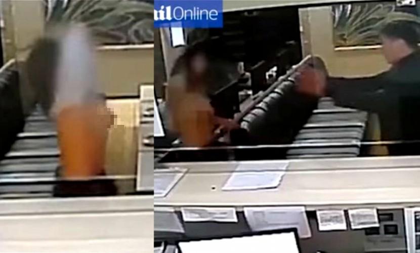 Посетительница ломбарда разделась перед охранником и пригрозила обвинить его в сексуальных домогательствах