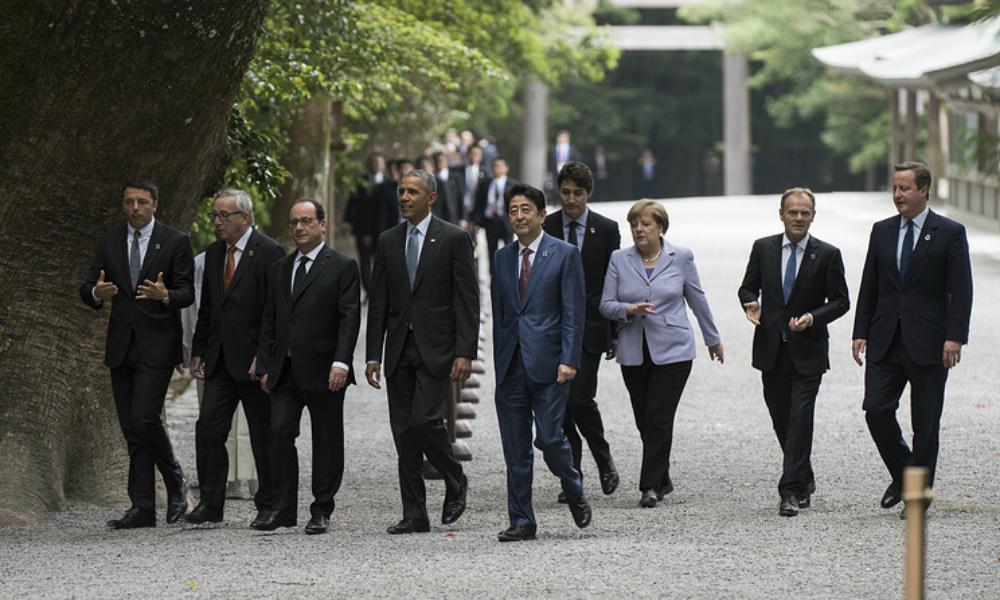 Лидеры «Большой семерки» высказались за сохранение санкций в отношении России