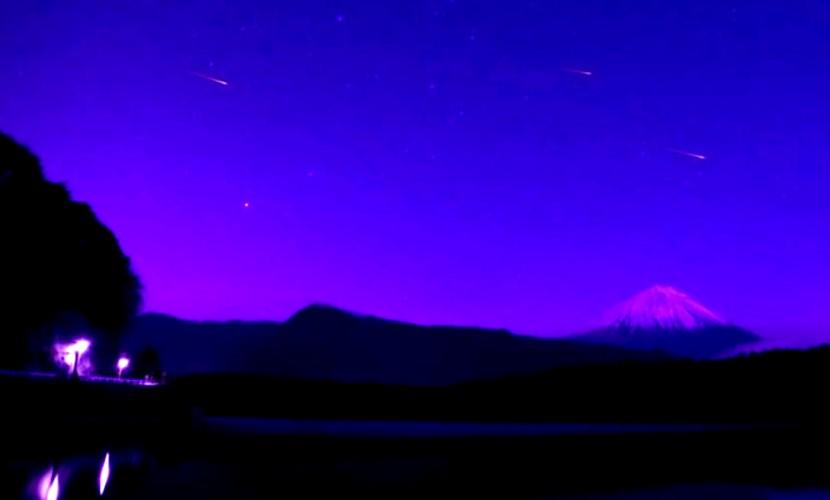 Видео фантастического метеоритного дождя для открытия Олимпиады в Токио появилось в Сети