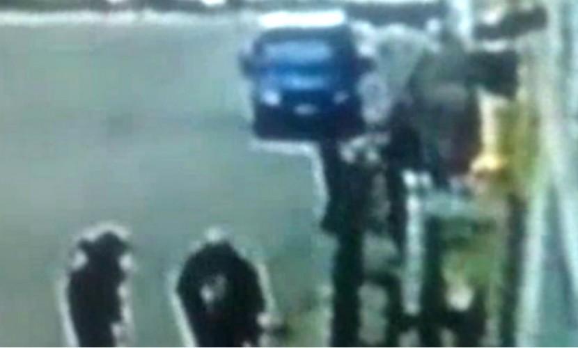 Опубликовано видео с места расстрела мужем молодой жены и ее любовника в Новой Москве