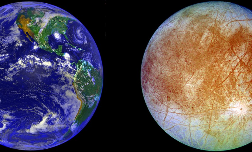 Обнаруженное сходство океанов Земли и спутника Юпитера возродило надежды ученых на жизнь в космосе