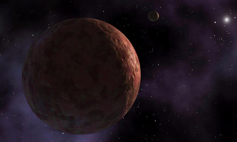 Ученые NASA открыли крупнейшую карликовую планету Солнечной системы - красную и с