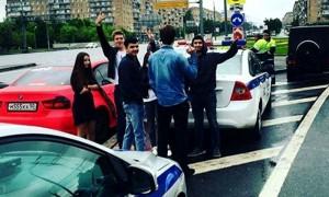 Опубликовано видео погони шести экипажей ДПС за внедорожником сына вице-президента «Лукойла»