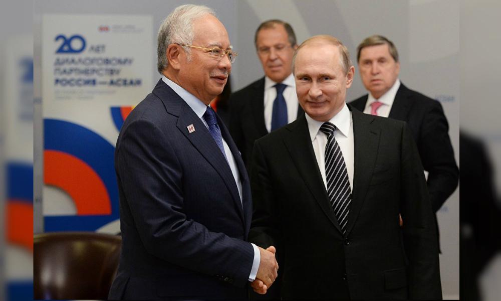 Путин заявил об укреплении сотрудничества России со странами АСЕАН